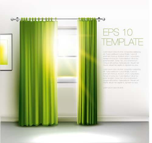 House Interior Corner Background Vectors Set 07 Free Download