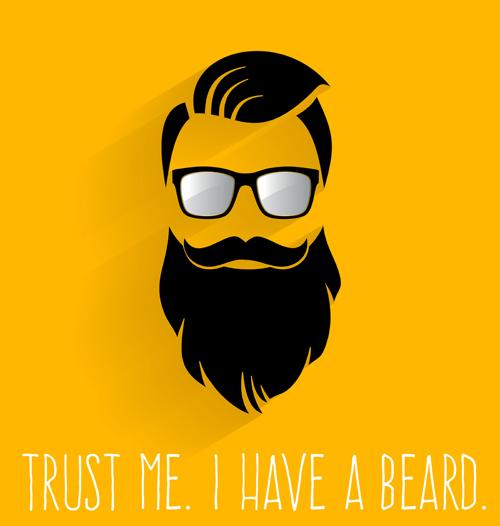 Real Beard Vector
