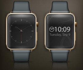 Modern smart watch template vector 04