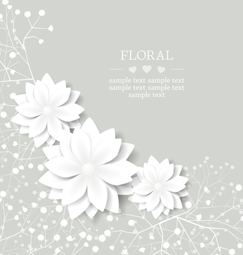 Paper flowers art background vector 05 free download paper flowers art background vector 05 mightylinksfo