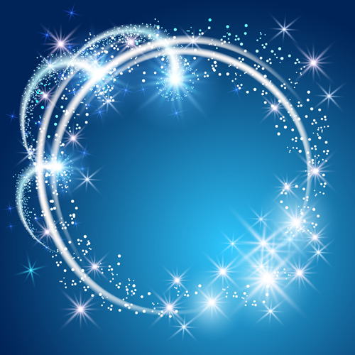 Shiny Starlight Art Background Vectors Set 15 Free Download