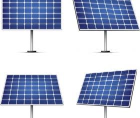 Solar panels vector material 01