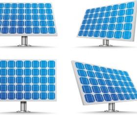 Solar panels vector material 03