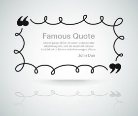 Text frames for quote vector 02