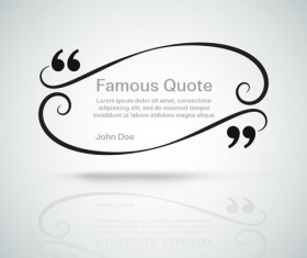 Text frames for quote vector 03