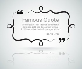 Text frames for quote vector 04
