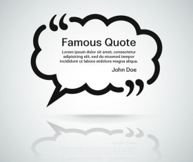 Text frames for quote vector 05