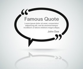 Text frames for quote vector 09