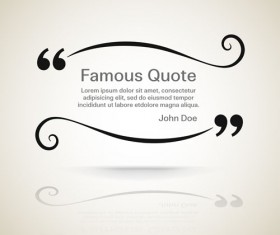 Text frames for quote vector 11