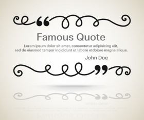 Text frames for quote vector 12