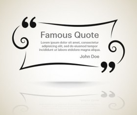 Text frames for quote vector 13