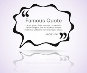 Text frames for quote vector 19
