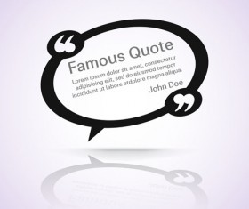 Text frames for quote vector 22