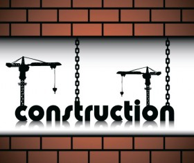Website under construction vector material 01