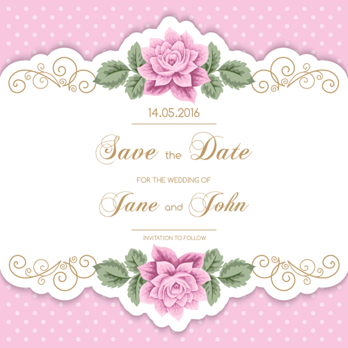 Flower Svg Library Download For Wedding Invitations