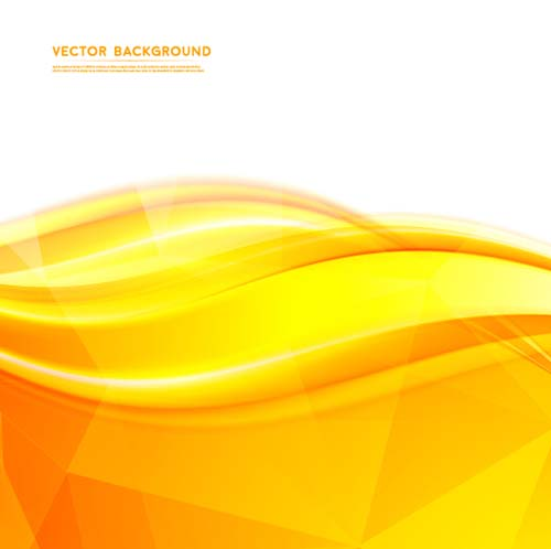 yellow abstract background vectors 03 vector abstract