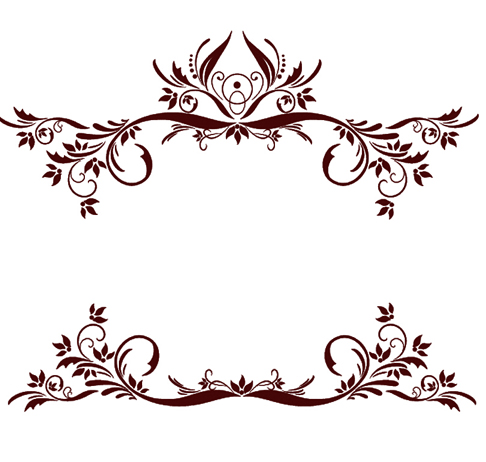 2 Kind Decor floral brushes - Photoshop Brushes free download