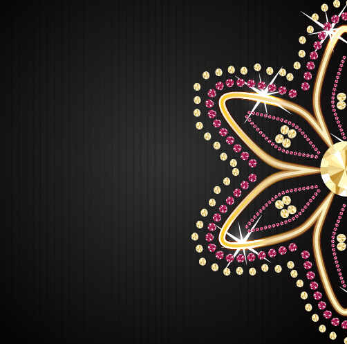 Beautiful jewelry vector background vector background free download
