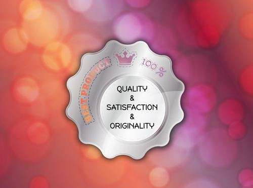 Best product badges vector material 02
