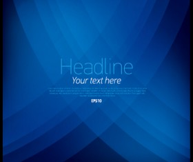 Blue abstract background vectors material