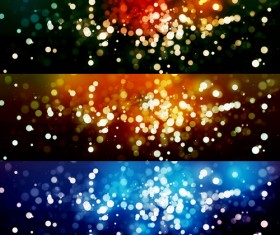 Brilliant bokeh background psd graphics