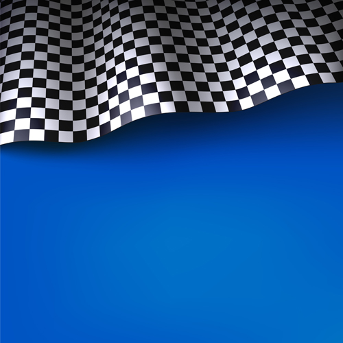 Colored background with checkered flag vectors 01 free ...