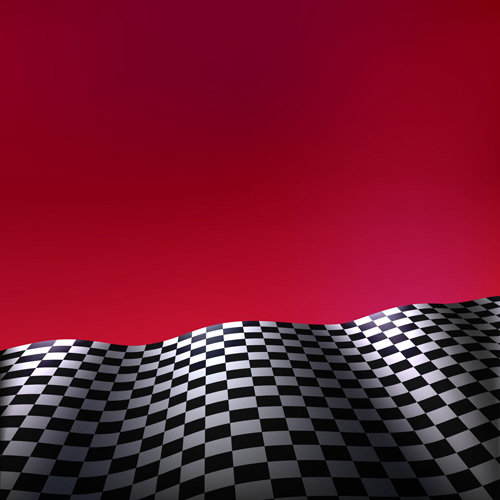 Colored background with checkered flag vectors 06 free ...