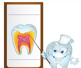 Dental health education vectors 01