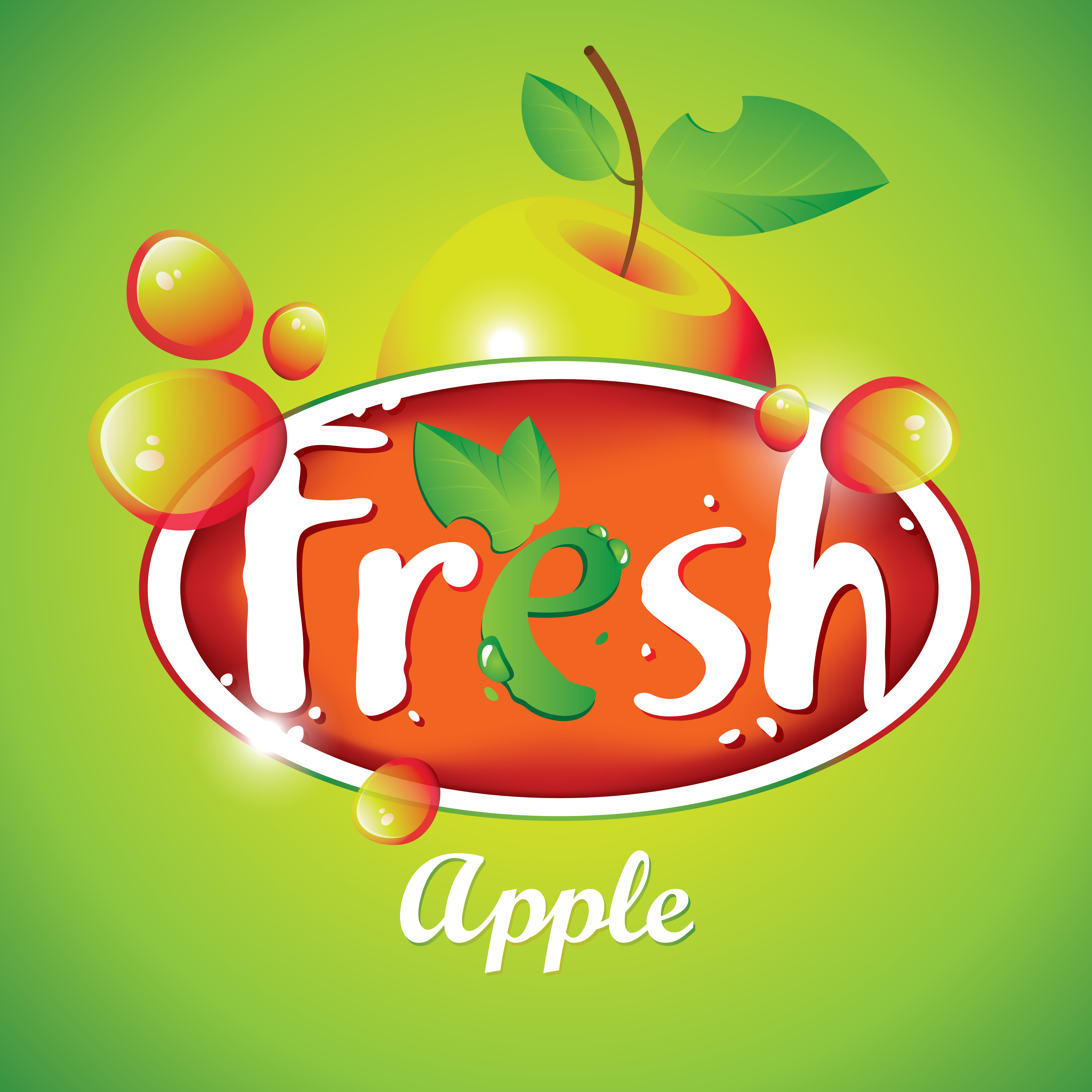 Poster design for free - Fresh Juice Poster Design Vectors Material 04