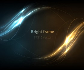 Light effect vector abstract background vector 01