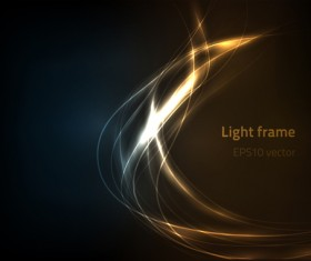 Light effect vector abstract background vector 03
