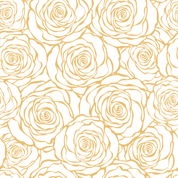 Simple flowers pattern vector - Vector Flower free download