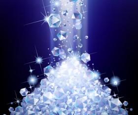 Shining diamond art background 01