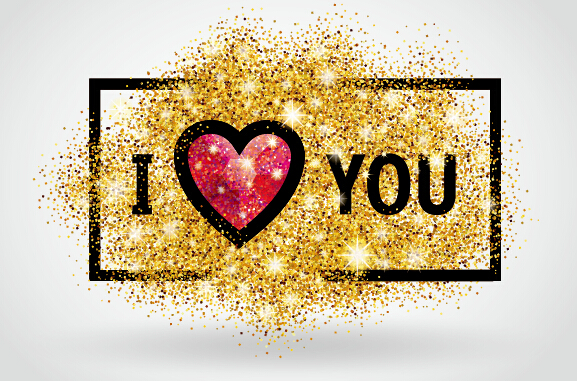 Download Valentines I Love You banners vector 04 - Vector Banner ...