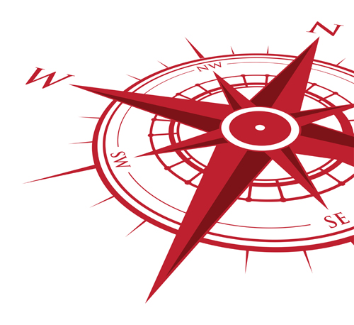 vector compass background design material 15 free download