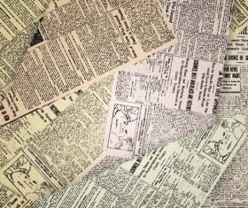 Vintage newspapers vector template 01