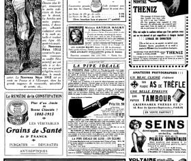 Vintage newspapers vector template 02