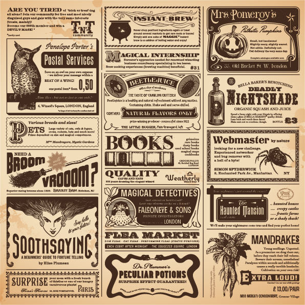 Vintage Newspapers Vector Template   Vector Life Free Download