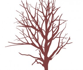 Winter tree branches photoshop brushes