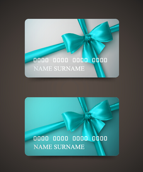 Beautiful bow with business cards template vector 07 free download beautiful bow with business cards template vector 07 colourmoves