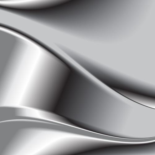 Chrome matel backgrounds vector 08 - Vector Background ...