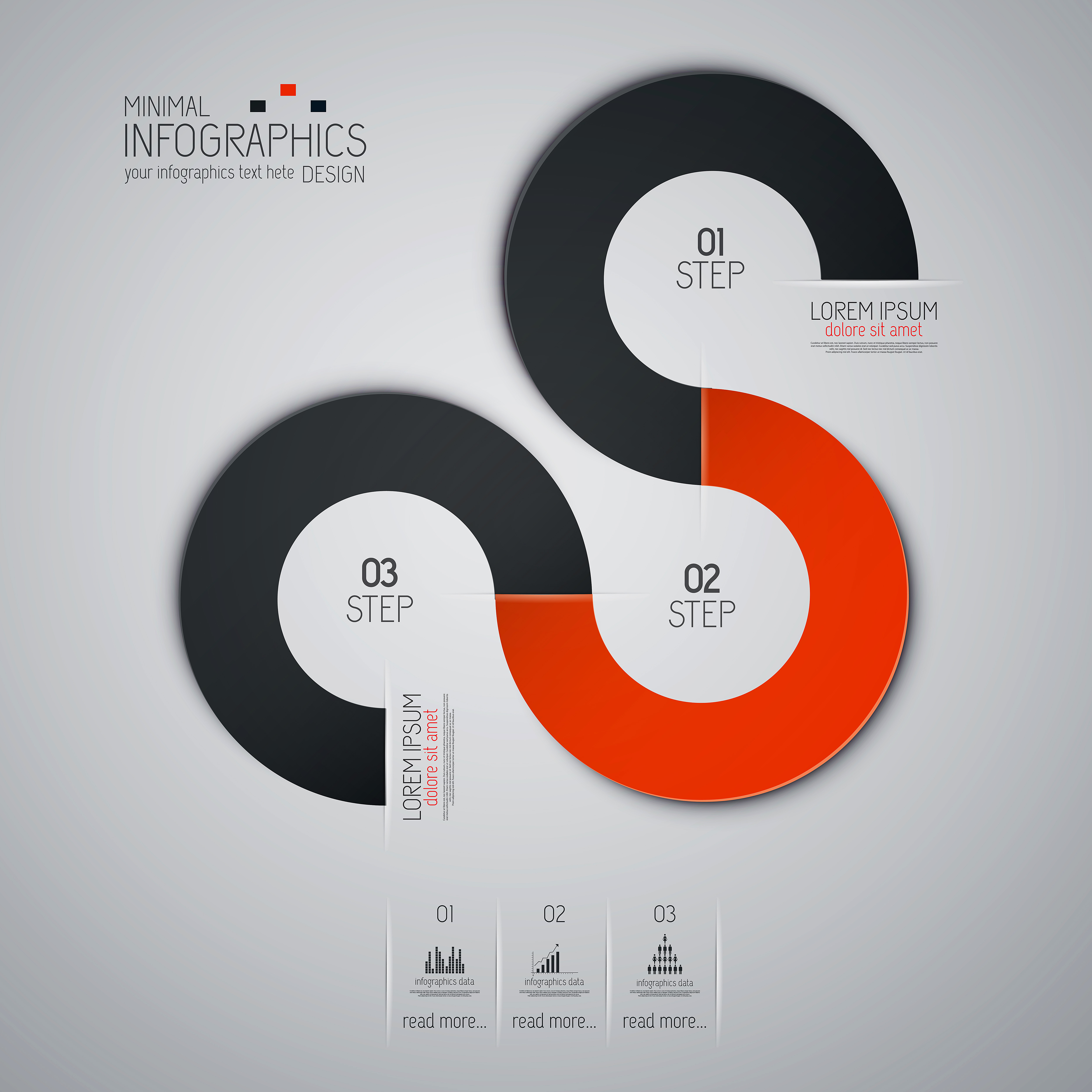 Colored banners infographic vectors 06 - Vector Banner, Vector ...