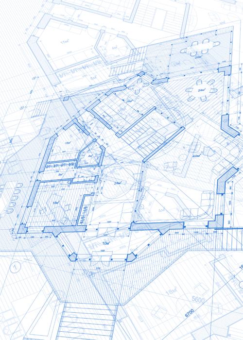 Creative architecture blueprint design vector 06 vector creative architecture blueprint design vector 06 malvernweather Image collections