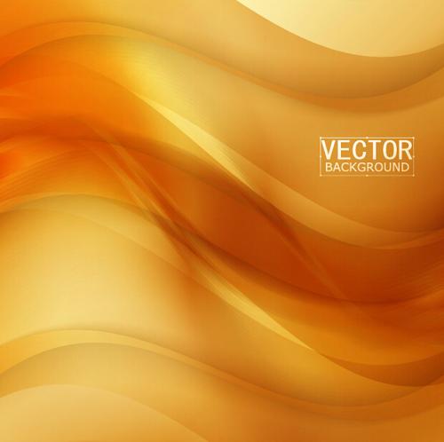 dark yellow abstract vector background 08 vector