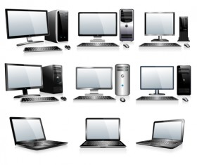 Different computers illustration vector