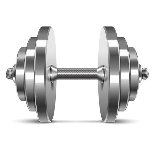 Free Weights Your Design Lyrics: Dumbbell Vector Design Illustration 05 Free Download