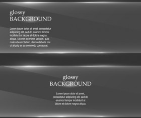 Glass glossy background vector 01