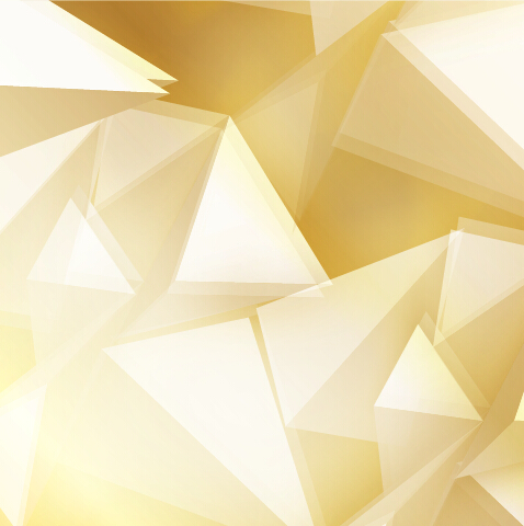 Golden Triangle Abstract Background Vector 02 Vector