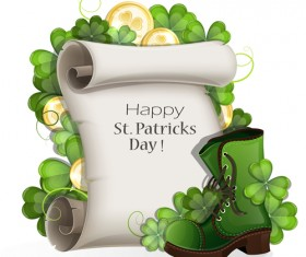 Happy st.patrick day background vectors 10