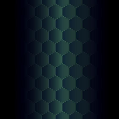 Hexagonal pattern background vector graphics 11